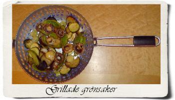 grilladegronsaker