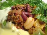 chili con carne med ostsås