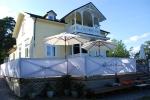 Bockholmen Hav & Restaurang, villan med matsal och uteservering.