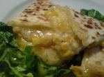 quesadilla med majs