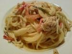 Spaghetti med tonfisk