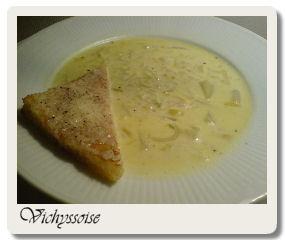 vichyssoise soppa recept