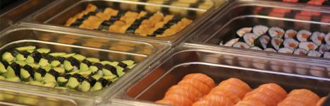 Sushi buffé