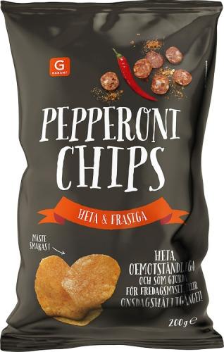 Garant chips, pepperonichips