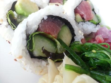 sushi yama, spicy tuna