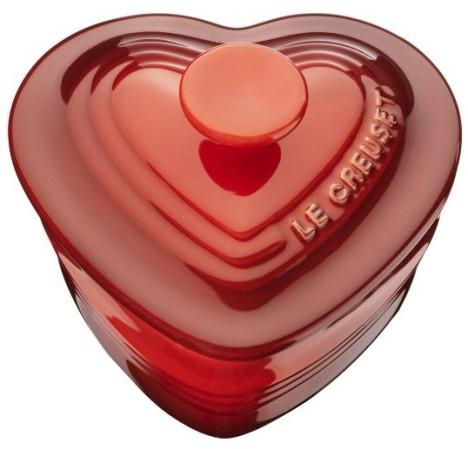 Hjärtformad form med lock, Ramekin, 0.25l